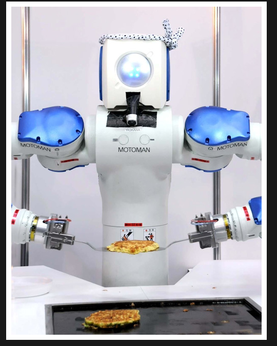 Sushi Making Robot