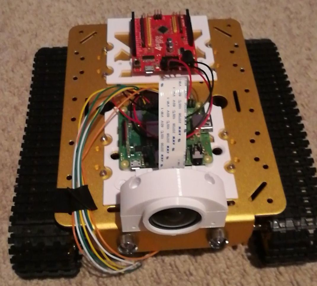 The Current Piwars Robot Build