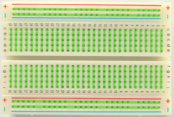 Breadboard Connection Diagram - Wiring Diagram